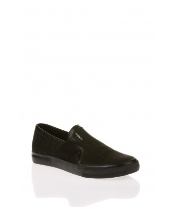 ZAPATILLA SLIPPER LOGO DKNY